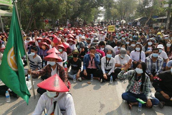 Ít nhất 138 người biểu tình Myanmar thiệt mạng từ đầu tháng 2