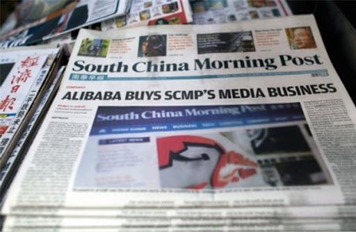 Trung Quốc buộc Alibaba rút vốn khỏi báo, mạng xã hội