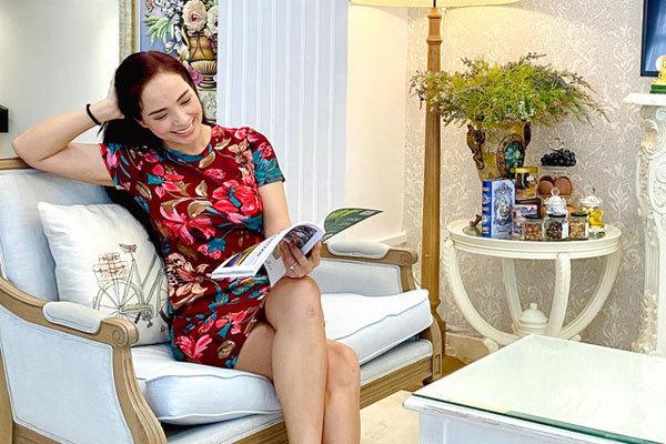 Biệt thự trắng nửa triệu đô của gia đình siêu mẫu Thuý Hạnh