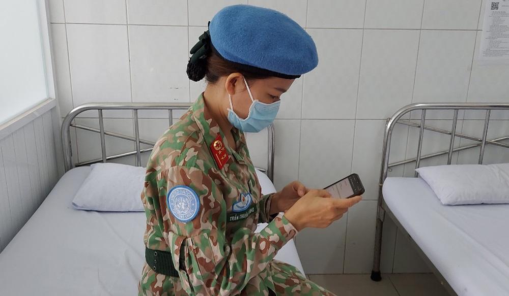 70 cán bộ quân y Việt Nam tiêm vắc xin Covid-19 trước khi đến Nam Sudan