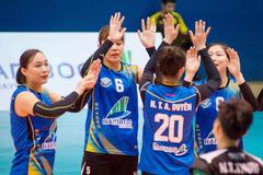 Bóng chuyền nữ Bamboo Airways Vĩnh Phúc hướng tới giải vô địch quốc gia