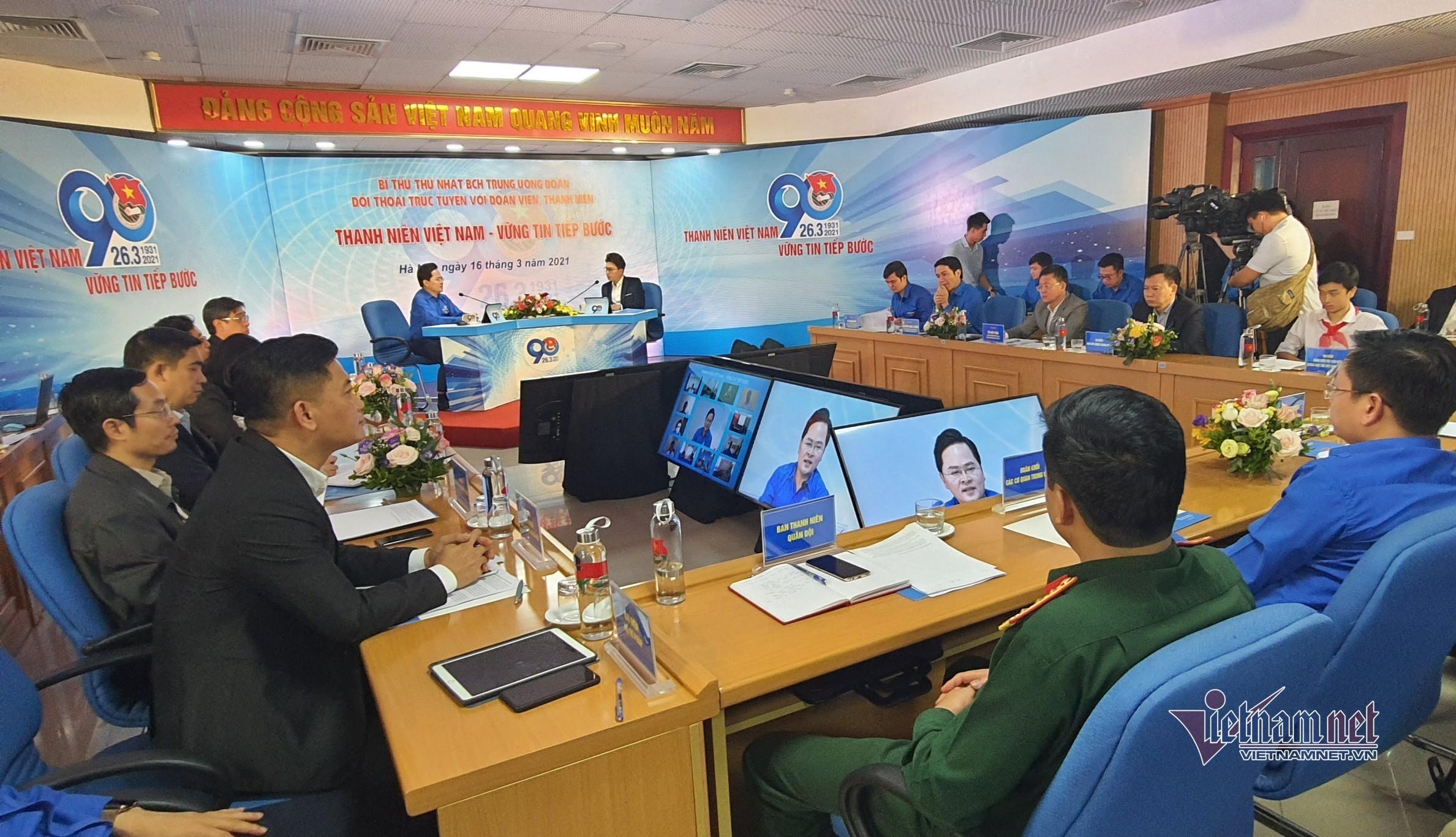 Bí thư Trung ương Đoàn: Sẽ tham mưu chính sách trọng dụng tài năng trẻ