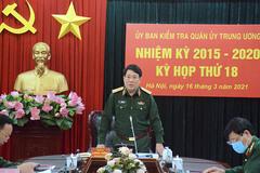 UB Kiểm tra Quân ủy Trung ương đề nghị kỷ luật Đảng 10 quân nhân