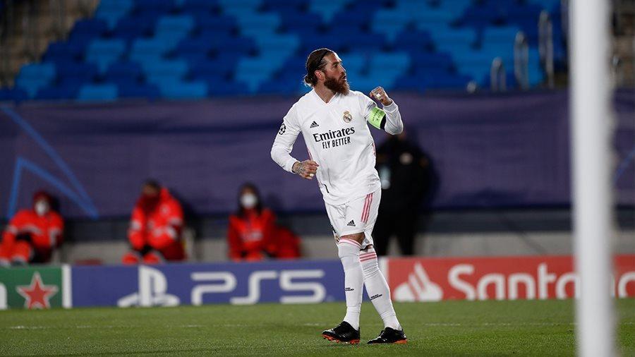 Benzema, Ramos đưa Real vào tứ kết Champions League