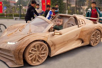 Woodwork wizard creates the ultimate toys