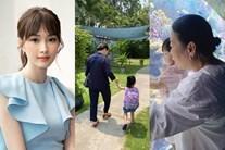 Mẹ chồng quyền lực của hoa hậu Đặng Thu Thảo hiếm hoi xuất hiện