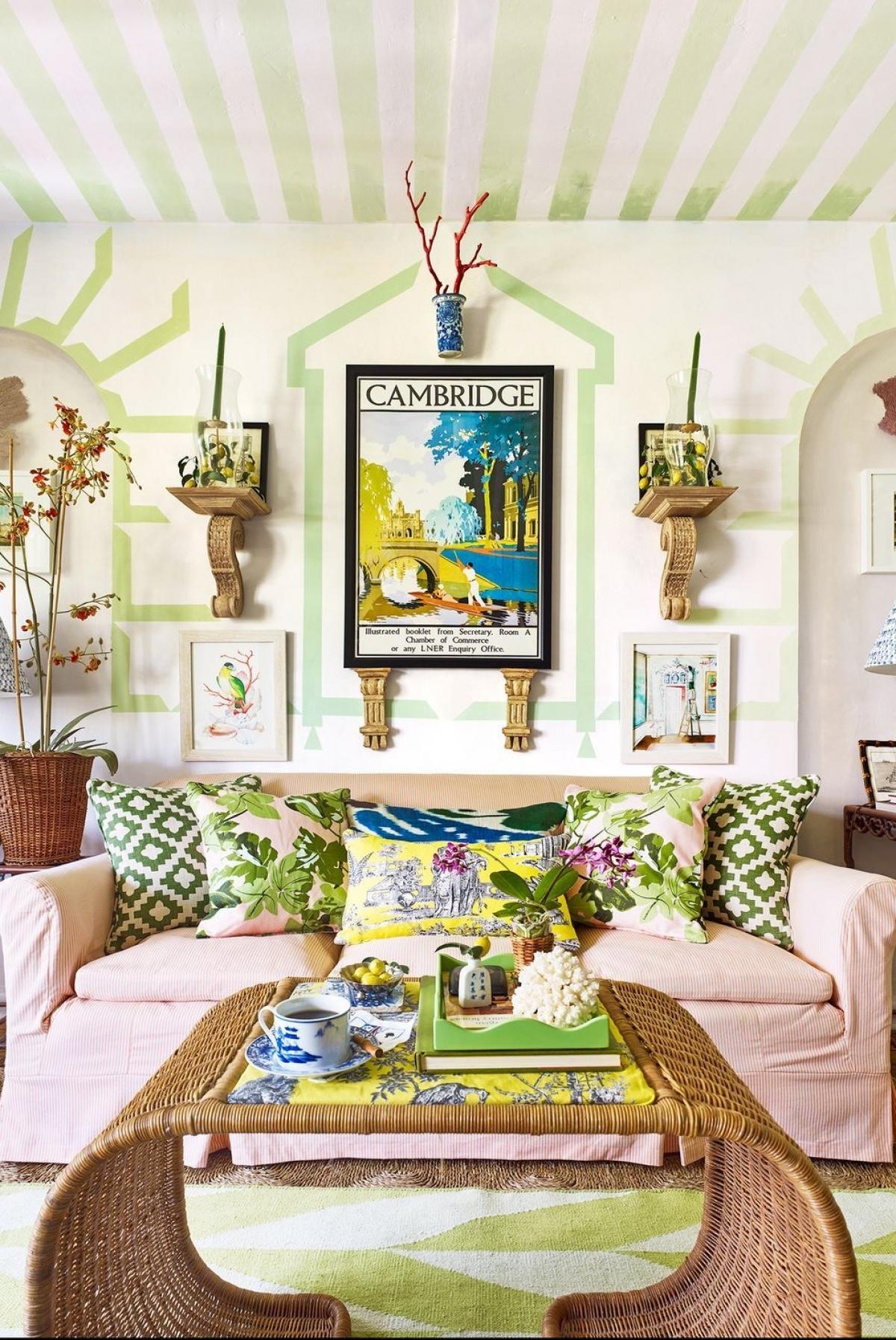 Những ý tưởng đơn giản trang trí ngôi nhà đón mùa hè oi bức