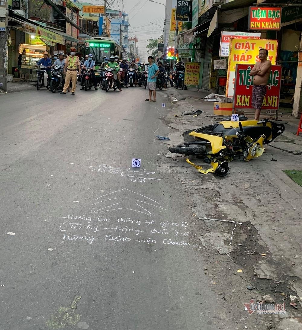 Thanh niên tử vong ở TP.HCM, tài xế lái ô tô bỏ chạy khỏi hiện trường