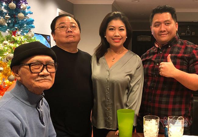 Cuộc sống của NSND Diệp Lang và vợ trên đất Mỹ ra sao?