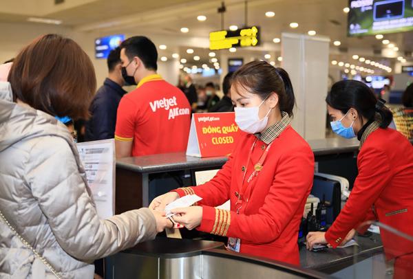 Cơ hội nhận voucher 'bay muôn nơi' từ Vietjet