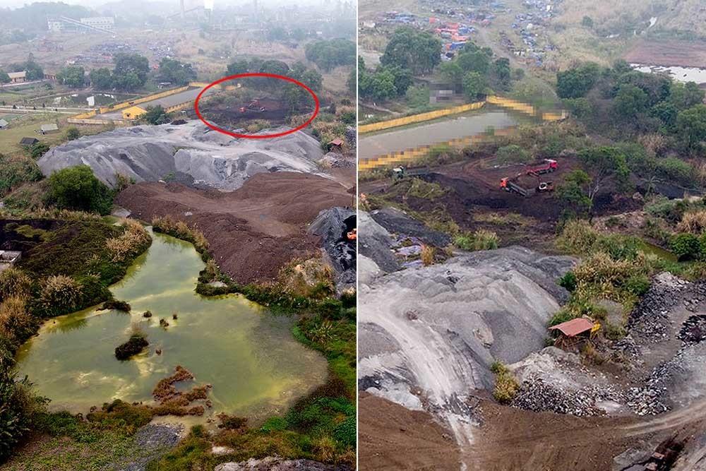 Núi chất thải lộ thiên ở Thái Nguyên, tiết lộ bất ngờ từ PGĐ Sở TN&MT