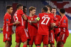 Bayern Munich vùi dập Lazio với tổng tỷ số 6-2