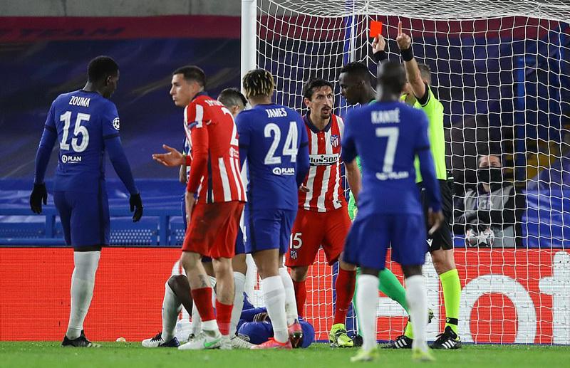 Hạ đẹp Atletico, Chelsea hùng dũng vào tứ kết C1
