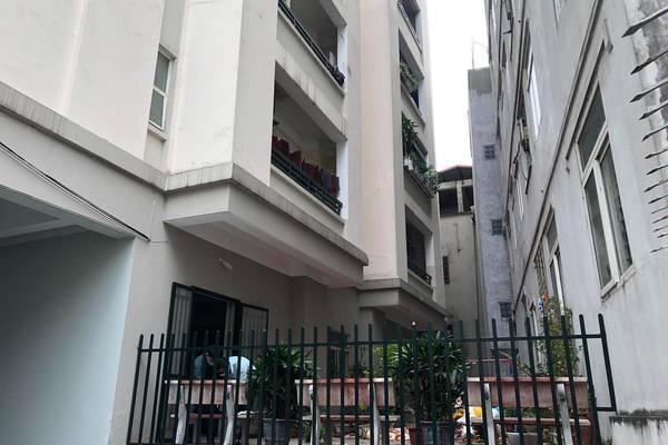 Nữ giúp việc rơi từ tầng 11 chung cư ở Hà Nội