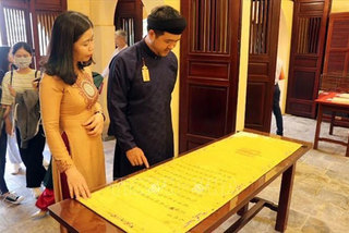 Centre exhibitingroyal legacy re-opens in Hue
