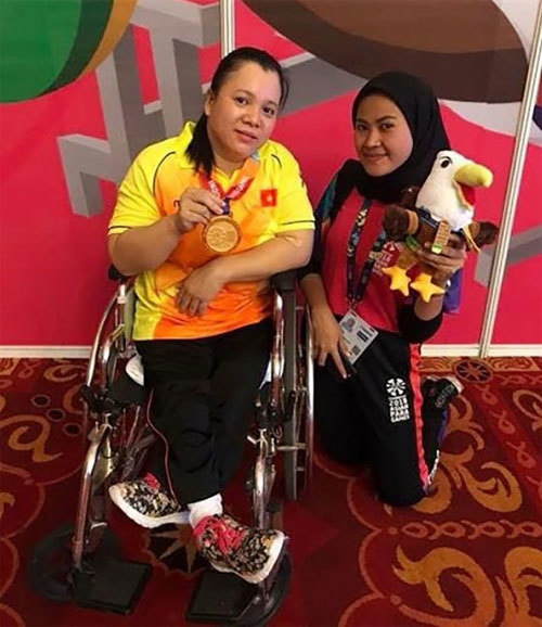 Powerlifter Phuong eagerly waiting for Para Games to shine