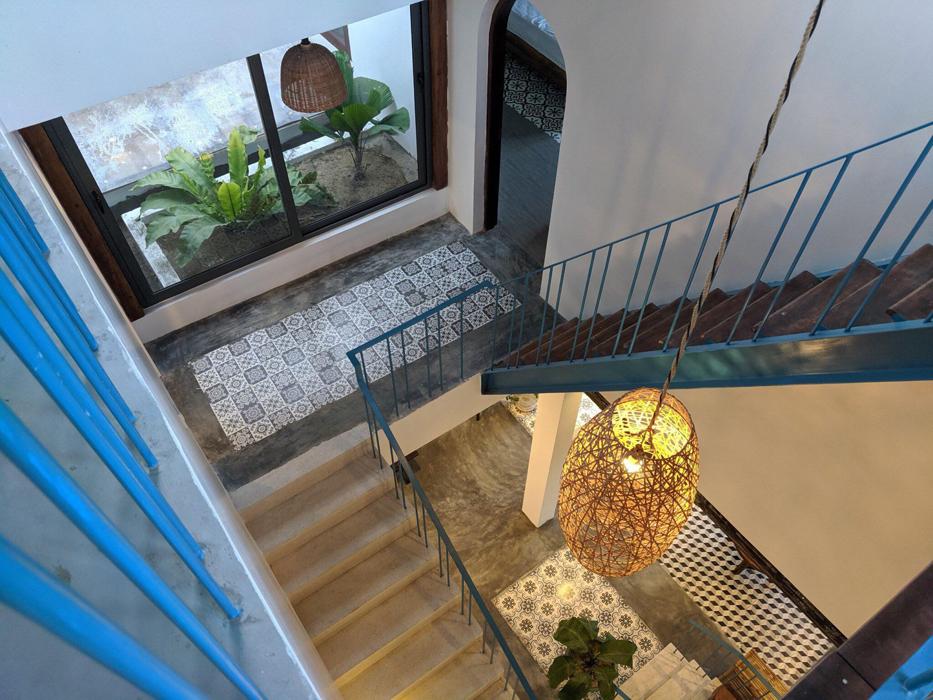 Đắm mình trong ngôi nhà phong cách Địa Trung Hải ở Hội An