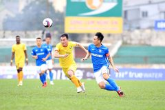 SLNA lần đầu được hưởng niềm vui ở mùa giải V-League 2021