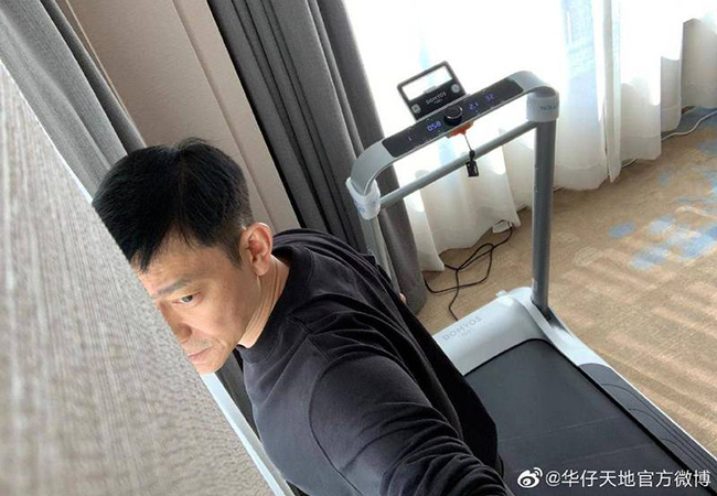 Lưu Đức Hoa mệt mỏi vì bị cách ly một mình trong khách sạn