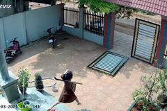 Vợ bầu Bình Phước cùng chồng võ sư đuổi bắt kẻ trộm xe