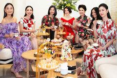 Hà Kiều Anh mở tiệc mừng với dàn sao trong không gian triệu đô