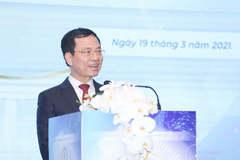 Toàn văn phát biểu của Bộ trưởng Nguyễn Mạnh Hùng tại Đại hội lần 5 của VINASA