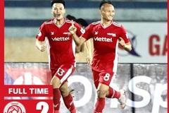 """""""Người không phổi"""" mang 3 điểm về cho ĐKVĐ Viettel"""