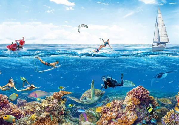 Công viên Vạn San Đảo - sức hút mới của du lịch biển Nha Trang