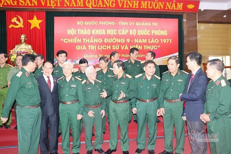 Chiến thắng Đường 9 - Nam Lào: Trận đánh khốc liệt qua kí ức vị tướng anh hùng