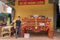 Đồ gỗ cổ truyền cao cấp Thành Luân - gìn giữ nét đẹp đi cùng thời gian