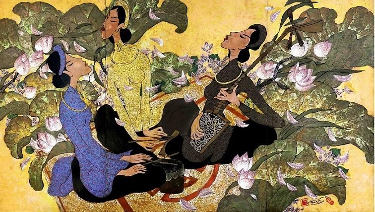 Nguyễn Hoài Hương với 'Giấc mơ' hội họa