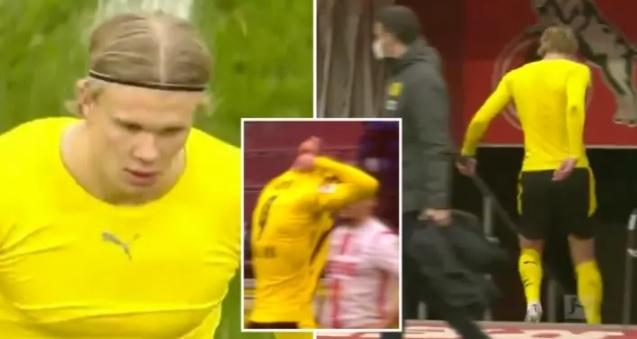 Haaland làm dịu dư luận sau khi ném áo đấu Dortmund