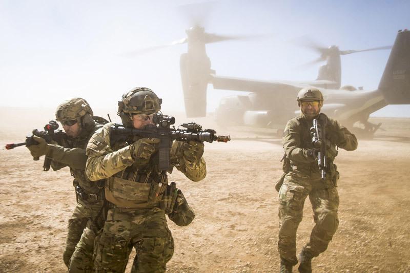 Sức mạnh của lực lượng tác chiến đặc biệt không quân, hải quân Mỹ