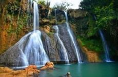 Dai Yem waterfalls in Moc Chau