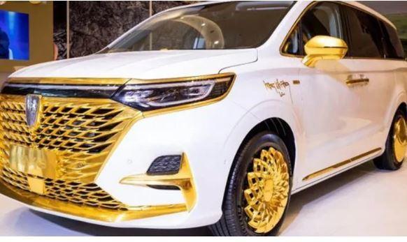 Xe Trung Quốc Roewe iMax8 mạ vàng đẹp long lanh