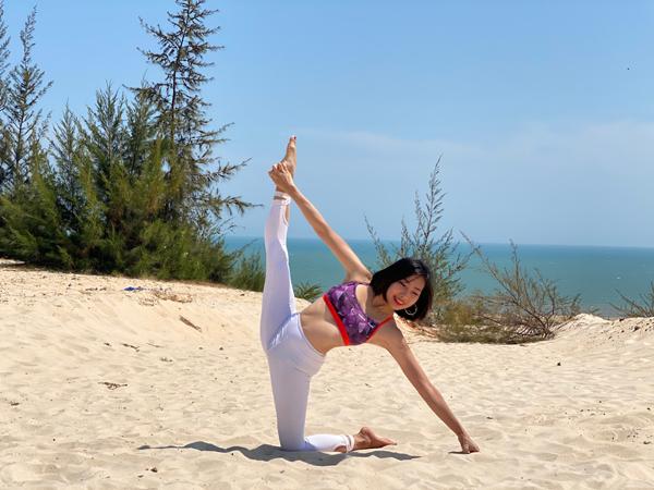 Cô giáo Yoga Hà thành chia sẻ những lưu ý cho người mới tập