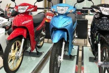 Xe máy số bình dân Honda Wave Alpha tăng giá chênh kỷ lục