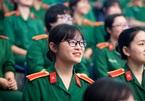 Học viện Quân Y và 2 trường quân đội tuyển thí sinh nữ