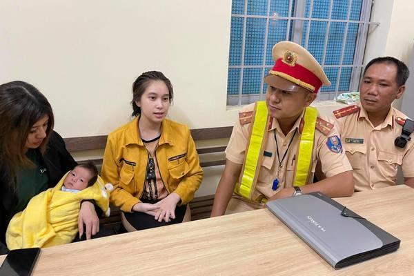 Tóm gọn người phụ nữ bắt cóc bé 1 tháng tuổi trên đường chạy trốn