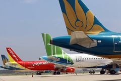 Private airlines ask for VND15 trillion in preferential loans