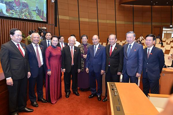 Quốc hội khoá XIV họp kỳ cuối cùng, kiện toàn 25 chức danh lãnh đạo