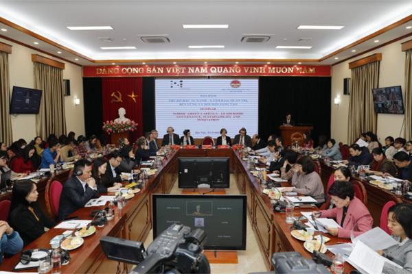 Bắc Âu và Việt Nam chia sẻ kinh nghiệm phát triển đô thị xanh