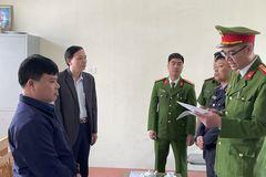 Giám đốc Ban quản lý dự án ở Thanh Hóa bị khởi tố