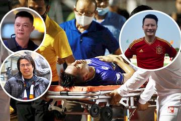 Nghệ sĩ động viên Hùng Dũng sau chấn thương, lên án Hoàng Thịnh
