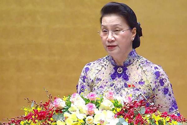 Dự thảo báo cáo công tác nhiệm kỳ khoá XIV của Quốc hội