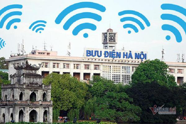 Hà Nội sẽ lắp thêm 9 điểm phát WiFi miễn phí