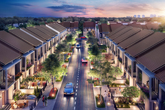 Sapphire Parkview - phân khu nhà phố xây sẵn tuyệt đẹp ở Gem Sky World