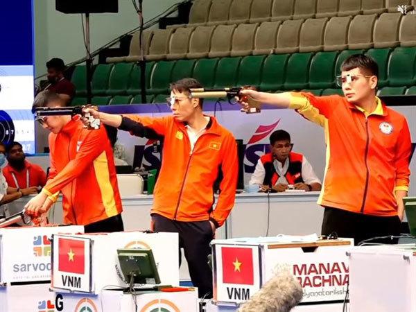 Vietnamese shooters,shooting,olympics