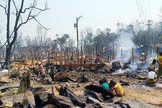 Trại tị nạn ở Bangladesh cháy lớn, ít nhất 15 người chết và hàng trăm người mất tích