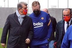 Barca đưa ra quyết định về tương lai của HLV Koeman